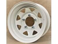 Диск колес Р15 УАЗ Magnum MG82 5*139.7 15*8 D110.5 ET-19 белый