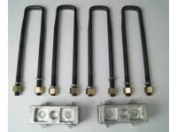 Комплект для лифта (рессора мост 60 мм) алюминий УАЗ 452