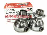 Опора шаровая УАЗ 469, 452 Буханка на мост Тимкен с измененным углом кастора +5 гр (2 шт.) Autogur73